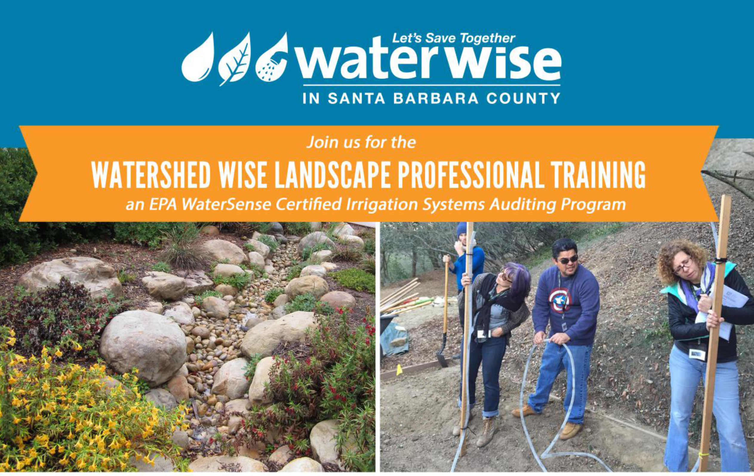 Watershed Wise Landscape Professional Certification - Santa Barbara County
