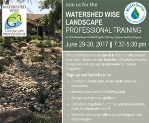 Watershed Wise Landscape Professional Certification - San Luis Obispo County